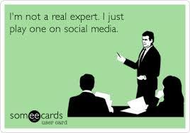 not an expert social
