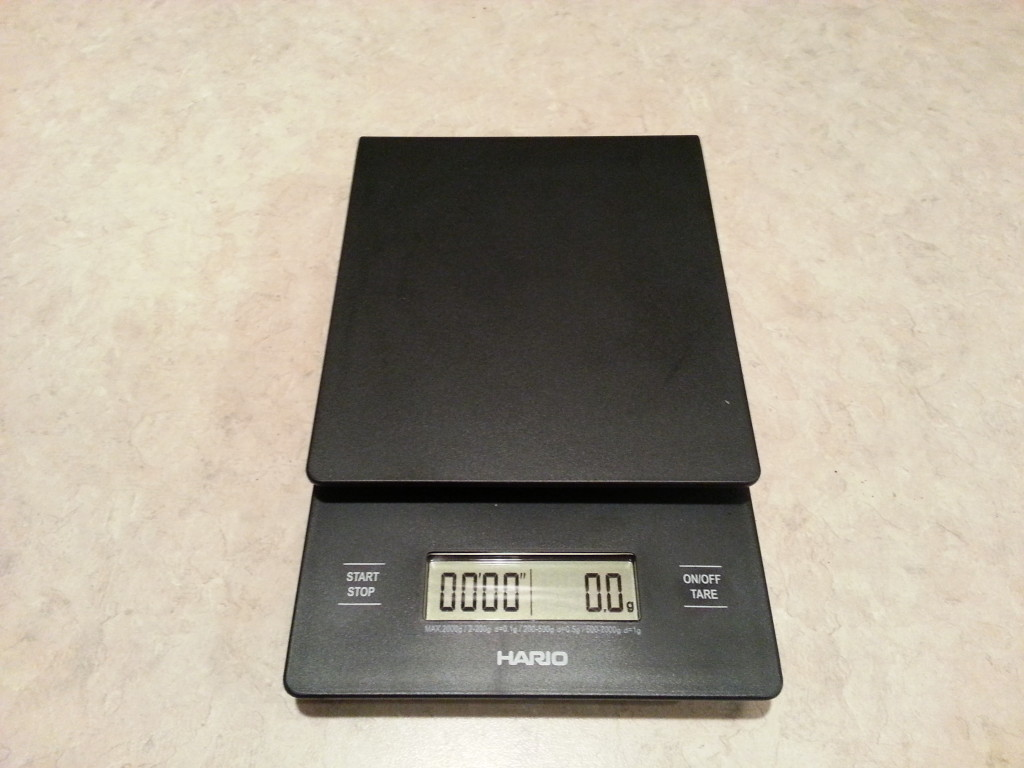 My Hario Coffee Scale