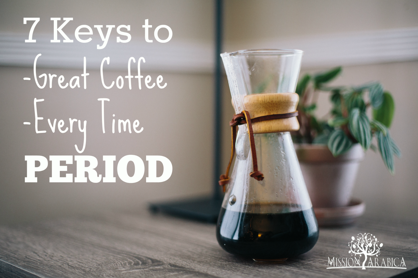 7 Keys to Great Coffee_Blog Post Header_small