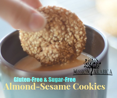 Almond-Sesame Cookies