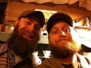 Glen and Alex