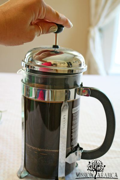 Lavender Coffee french press