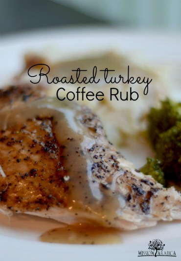 Roasted Turkey Coffee Rub