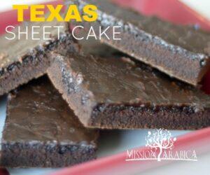 Texas Sheet Cake featured image