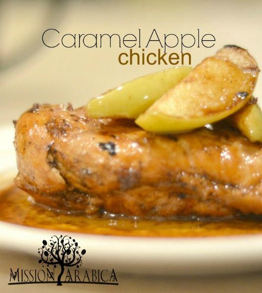 Caramel Apple Chicken