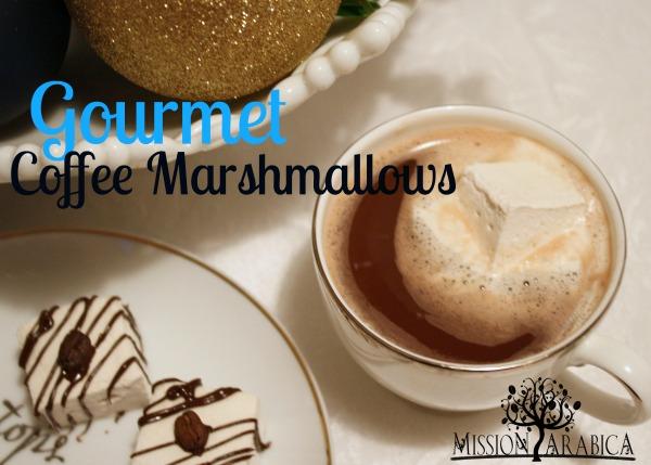 Gourmet Coffee Marshmallows