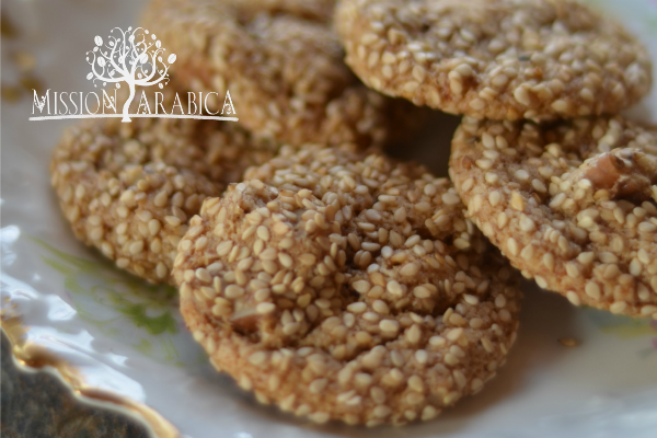 Almond-Sesame Cookies