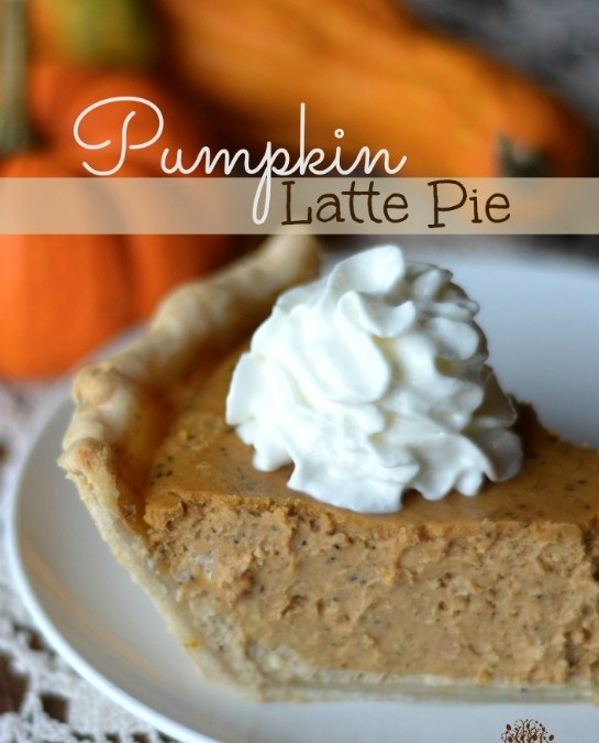 Pumpkin Latte Pie