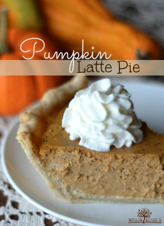 Pumpkin Latte Pie