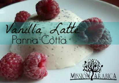 Vanilla Latte Panna Cotta